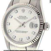 Rolex Datejust President Midsize 18k White Gold Circa 1999...