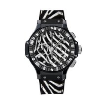 Hublot Big Bang 41mm Black Zebra Bang