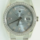 Rolex Day-Date Platinum 36mm,Factory setted dial and bezel,mint