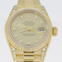 Rolex Datejust 26mm Lady Diamonds Original / FULL SET / REF 69238