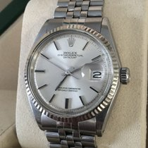Rolex Oyster Perpetual Datejust Steel White Gold Bezel 36mm...