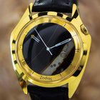 Zodiac Swiss Made Men's Natural Onyx Mystery Dial Dress...