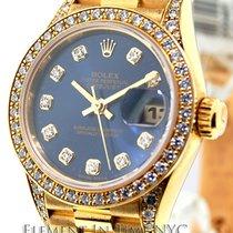 Rolex Datejust 26mm President Factory Diamonds Ref. 69158