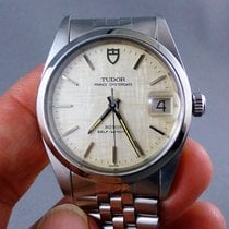 Tudor Prince Oyster date linen dial stainless steel