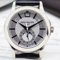 Patek Philippe 5205G-001 Annual Calendar Silver Dial 18K White...
