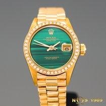 Rolex Datejust President 18K Gold 6917 Automatic Diamonds