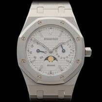 Audemars Piguet Royal Oak Day-Date Moonphase Stainless Steel...