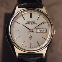 Seiko Grand Quartz 1980s Gold Capped Men's Made In Japan...