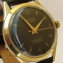 Bernex Gents 1950s vintage gold-plated watch