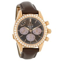 Omega De Ville Co-Axial 18k Diamond Chronograph Watch 4677.60.37
