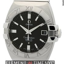 Omega Constellation Perpetual Calendar Stainless Steel 35mm...