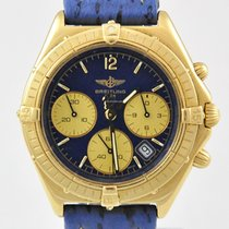 Breitling Chronograph Yellowgold
