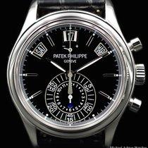 Patek Philippe Ref# 5960P Chronograph Black Dial