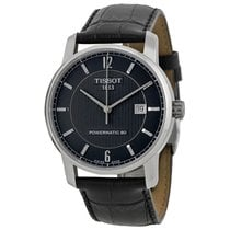 Tissot Men's T0874074605700 Classic Black Dial Watch