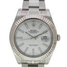 勞力士 (Rolex) 116334 Datejust II 41 Steel and White Gold Silver...