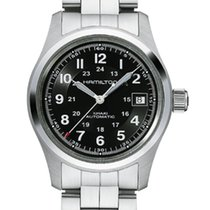 Hamilton Khaki Field Automatic Black Dial 38mm