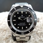 Rolex SUBMARINER 16610 Black Dial with Black Bezel (Nic...