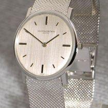Vacheron Constantin timeless, elegant 18k white gold gent'...