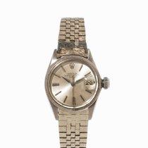 Rolex Date White Gold Lady's Watch, Ref. 6520, c. 1960