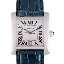 Cartier Tank Francaise Mens Automatic Watch W5001156