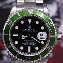 Rolex Oyster Perpetual Green Submariner Kermit (chaptering)...