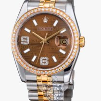 Rolex Datejust 36 mm Stainless Stell and Yellow Gold