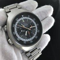Omega Flightmaster 145.036 Stainless Steel Manual Winding Watch
