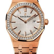 Audemars Piguet Royal Oak Ladies Rose Gold 33mm 67651OR.ZZ.126...