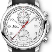 IWC Portugieser Yacht Club Chronograph 43.5mm IW390502 Silver...