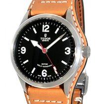 Tudor Heritage Ranger 79910 Steel, Leather, 41mm
