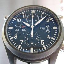IWC Pilot Doppelchronograph Keramik Fliegeruhr 44mm