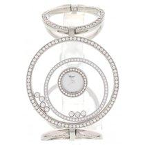 Chopard Ladies Chopard Happy Spirit Diamonds 18K White Gold...
