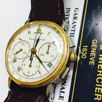 Baume & Mercier Steel Gold Chronograph Dial 34mm