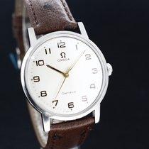 Omega Geneve White Dial Handaufzug Caliber 601 aus 1970 TOP