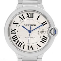 Cartier Ballon Bleu Mens Stainless Steel Automatic Watch W69012z4