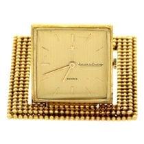 Hermès Vintage Hermes Jaeger Le Coultre 18K Yellow Gold Travel...