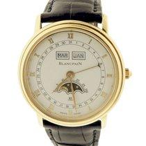 Blancpain Moonphase Triple Calendar Wristwatch