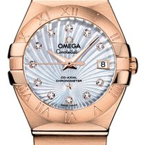 Omega Constellation Co-Axial Automatic 27mm 123.50.27.20.55.001