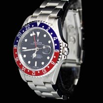 Rolex GMT Master II M-Series Stick Dial , Pepsi. 3186 Full Set...