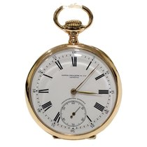 Patek Philippe Gondolo Pocket Watch Gold 18Kt 52mm