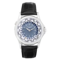 Patek Philippe World Time Men's Complicated Platinum Watch...
