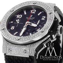 Hublot 301.sx.130.rx Big Bang Diamond Watch Black Dial On...