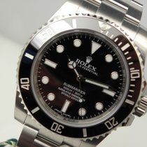 Rolex Submariner No-date 114060 Mens Stainless Steel Black...