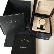 Zenith Elite Captain Power Reserve Or rose