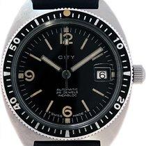 City Mans Divers Wristwatch