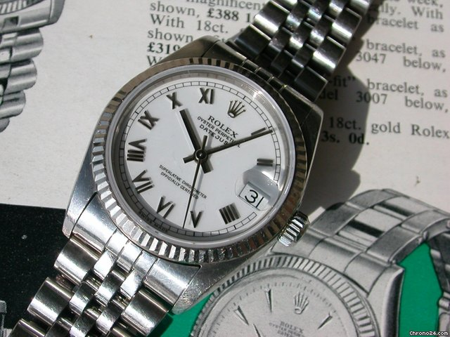 Rolex Datejust Ref 68274 31mm Damenmodell