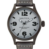 Nautica BFD 102 Classic A13612G Herrenuhr 10 ATM 44 mm