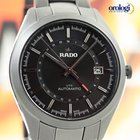 Rado HyperChrome UTC Automatic 42mm Black Ceramic Mens Watch