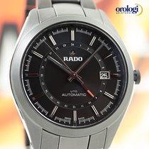 Rado HyperChrome UTC Automatic 42mm Black Ceramic Mens Watch