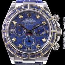 Rolex Daytona 116589 18k White Gold Sodalite Dial Sapphire...